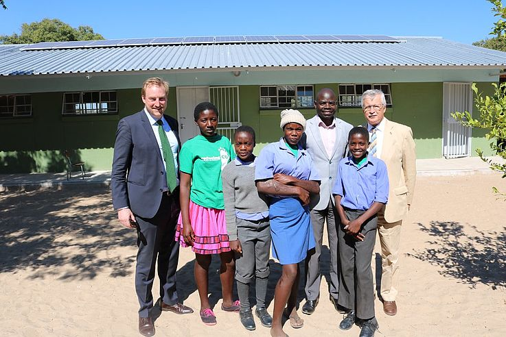 Lights on at Two Ohangwena Combined Schools