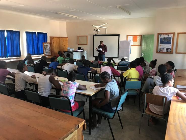 Civic Education AT Otjikondo Primary School and Secondary School