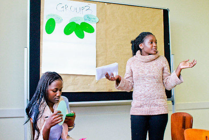 Namibian youth propose actions for the Forum to take forward.